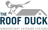 THE ROOF DUCK Sticky Logo